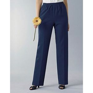 Alfred Dunner Classics Petite Plus Pull On Pant